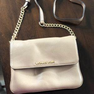 Michael Kors tan crossbody purse